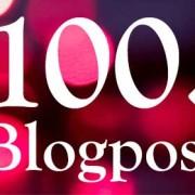 100. Blog