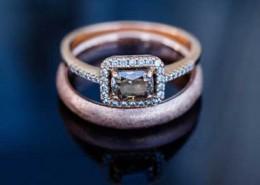 Pflege des Verlobungsrings
