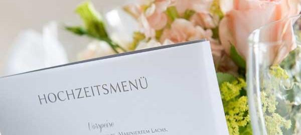 dieser eine tag Hochzeitsplanung Tipps für die Menüauswahl
