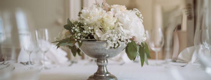 dieser eine tag Hochzeitplanung Blumenarrangements