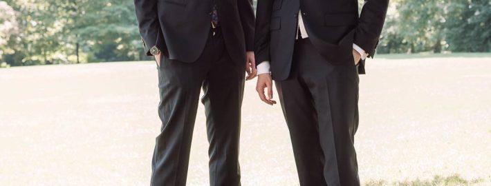 dieser eine tag Hochzeitsplanung Sitzt der Anzug?